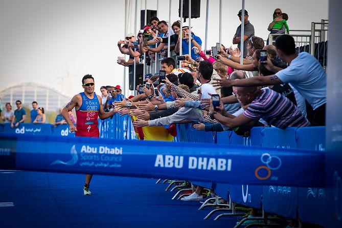 ITU World Triathlon Abu Dhabi - Team O2 attempt to Row across the Atlantic Ocean - Factor 31   Innovation in Sport & Entertainment