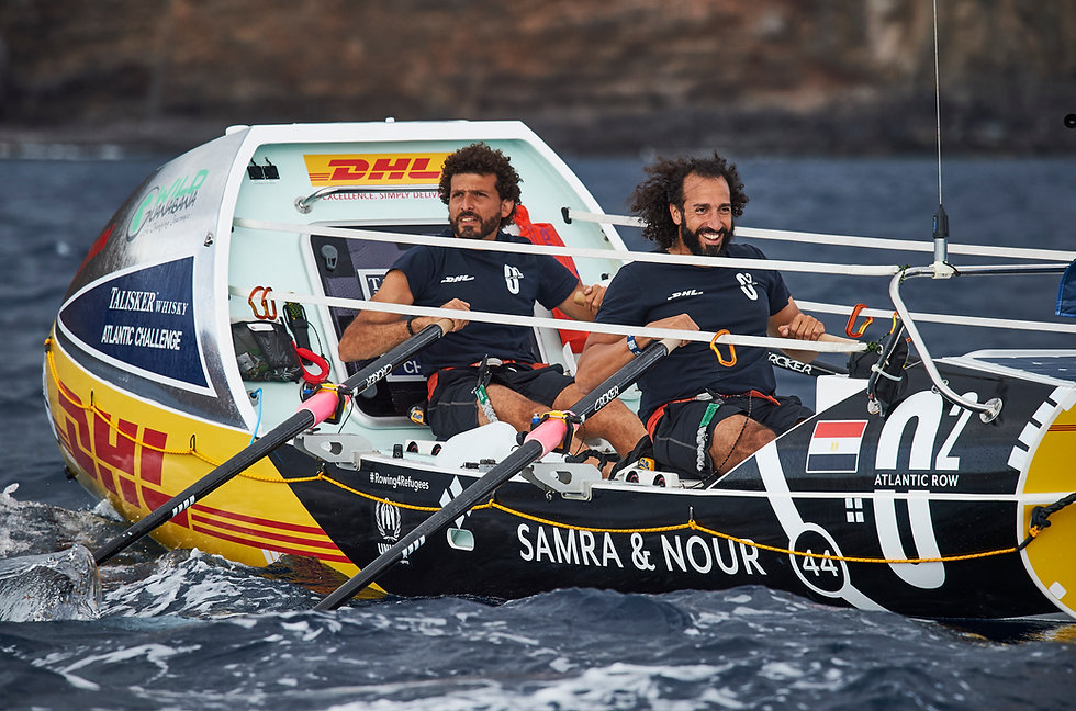 Team O2 attempt to row across the Atlantic Ocean - Factor 31 | Innovation in Sport & Entertainment