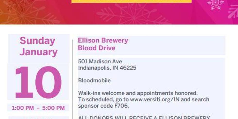 Ellison's first Blood Drive!