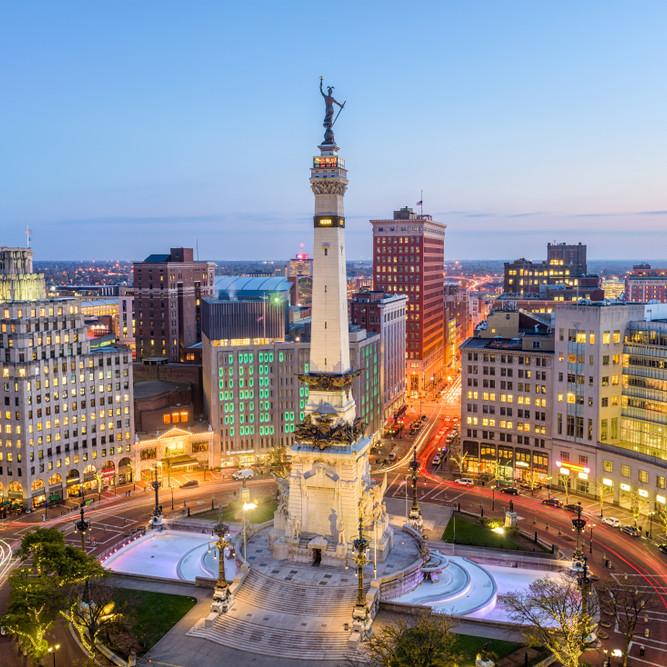 Downtown Indiananpolis Trivia