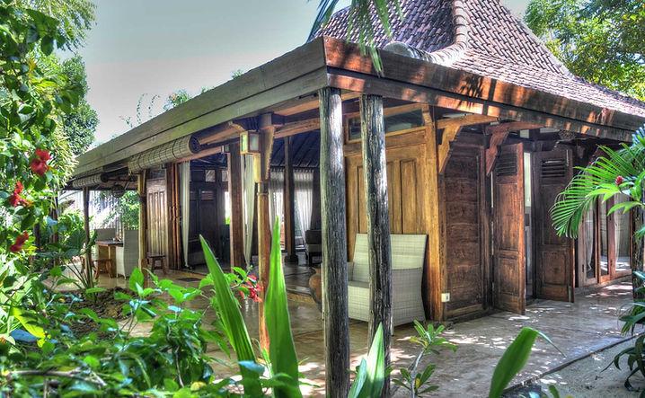 Luxury villa Gili Trawangan, gili trawangan villa rent, eco villa gili holidays, gili trawangan private villa, gili trawangan accommodation
