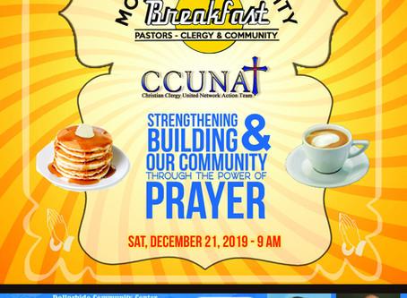 Event: MONTHLY COMMUNITY BREAKFAST