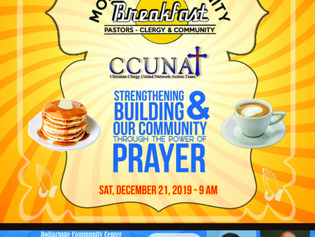 Event: MONTHLY COMMUNITY BREAKFAST