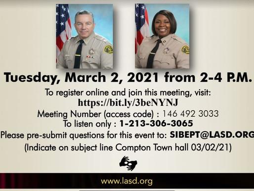 Community Conversation Hosted by Sheriff Alex Villanueva