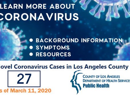 Coronavirus cases expand in LA County