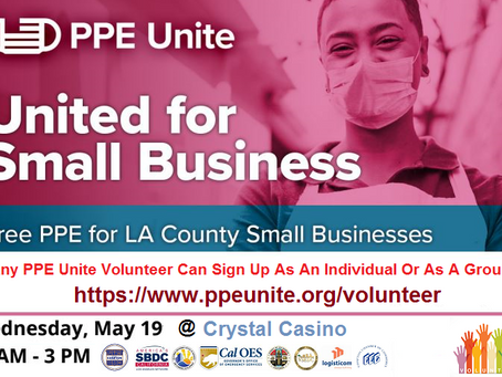 Any PPE Unite Volunteer Can Sign Up As An Individual Or As A Group