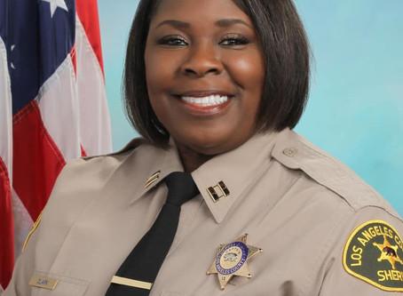 CCC congratulates Captain La Tonya R. Clark