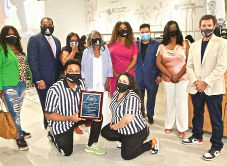 Compton Chamber welcomes Footlocker in Compton