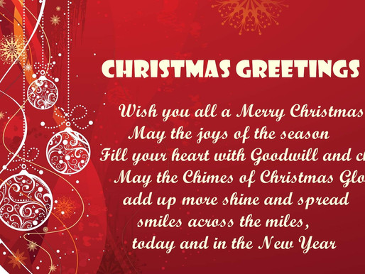 Merry Christmas from Compton Chamber of Commerce!