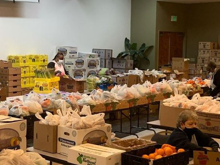 Our Food Pantry Served Over 100,000 Residents Since March 2020