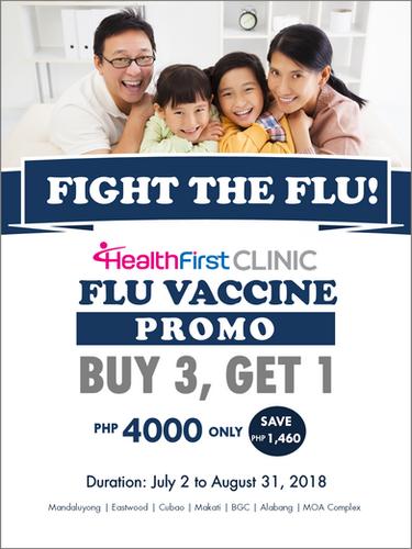 Flu Vaccine Promo