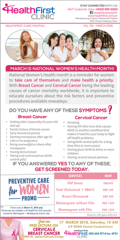 HealthFirst Clinic - Breast Cancer & Cervical Cancer | Women's Health