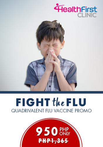 Quadrivalent Flu Vaccine Promo