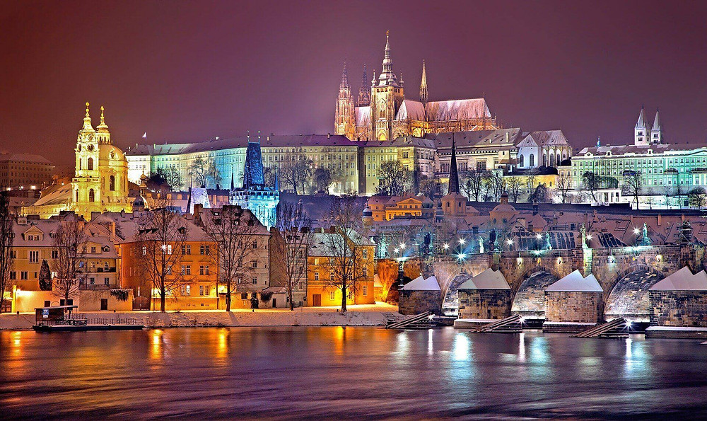 Prague Castle, palaces, churches, and cathedral dot the streets and square es of the city, but there is always room for excellent restaurants and cafes