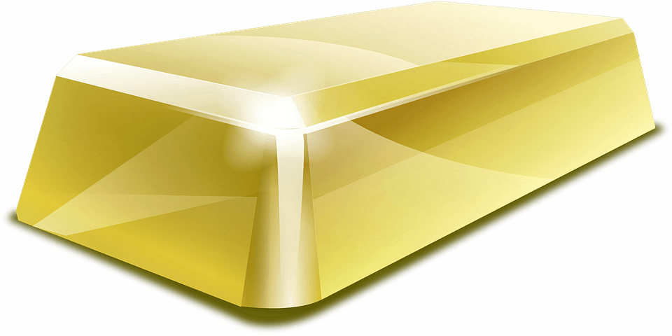 Investing in Gold - gold with beautiful reflection