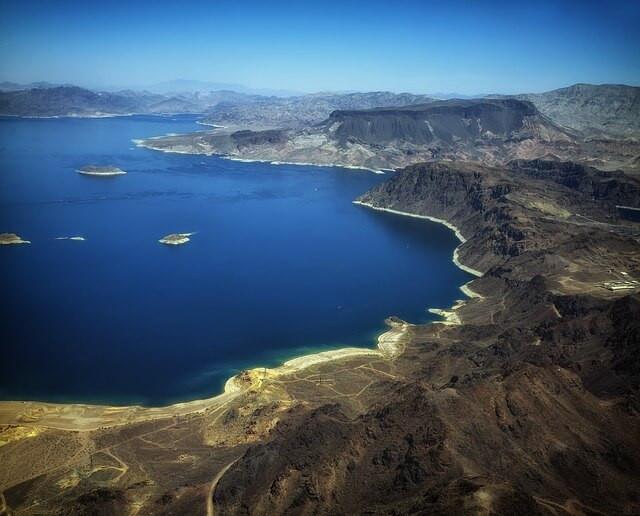 lake-mead-Nevada air view