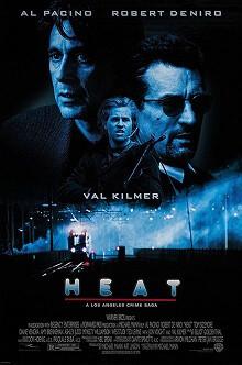 Heat 1995 movie poster