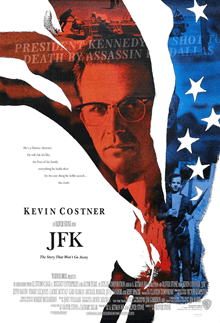 JFK 1992 movie poster