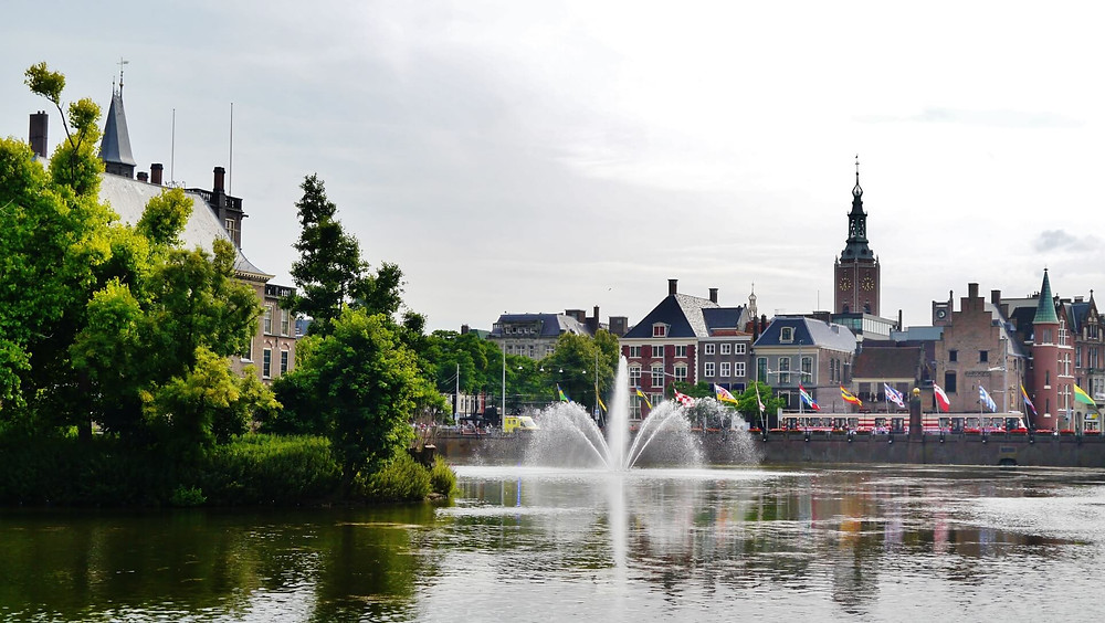 The Hague One of the grandest cities within the Kingdom of The Netherlands, the urban center, is the city's polar opposite.