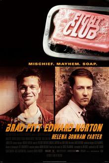 Fight Club 1999 movie poster