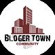 BlogerTown Visual Art Community Blog Logo