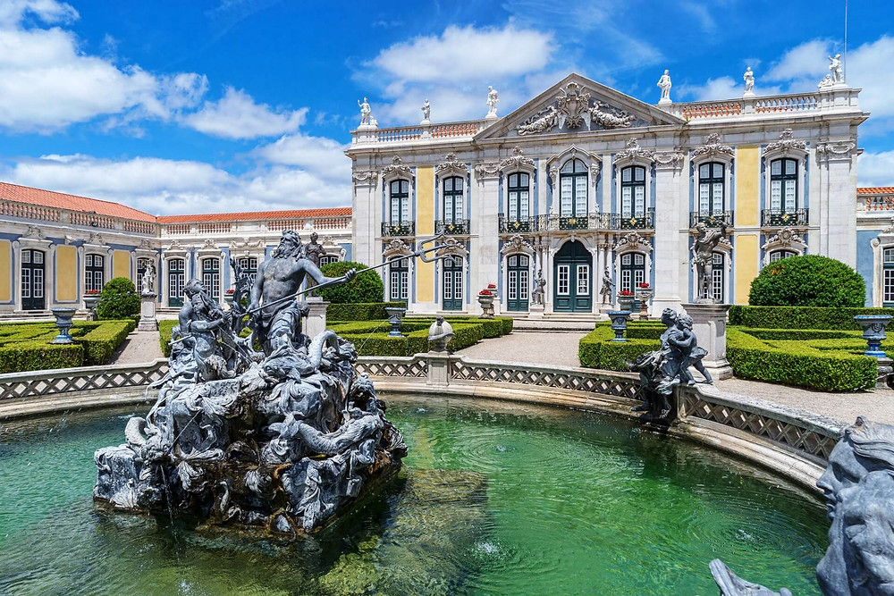 Neptune's glory, Palace of Queluz, 1747 Fontaine
