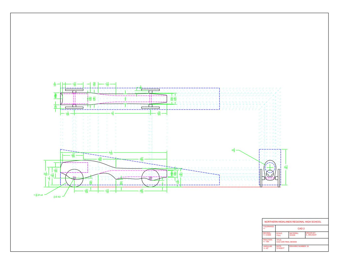 CO2 Car Design