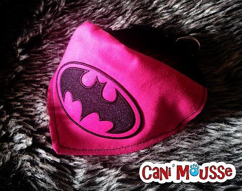 Collier bandana pour chien Batgirl