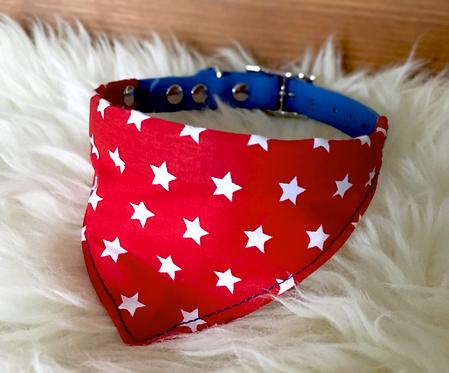 Collier bandana pour chien - modèle Étoilé