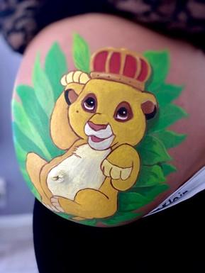 belly simba