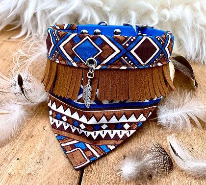 collier bandana cheyenne chien