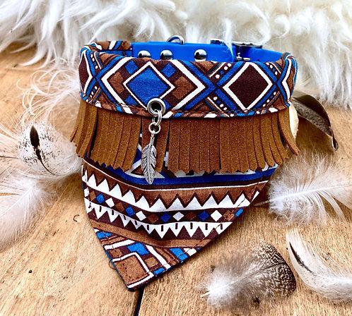 Collier bandana pour chien - modèle Cheyenne