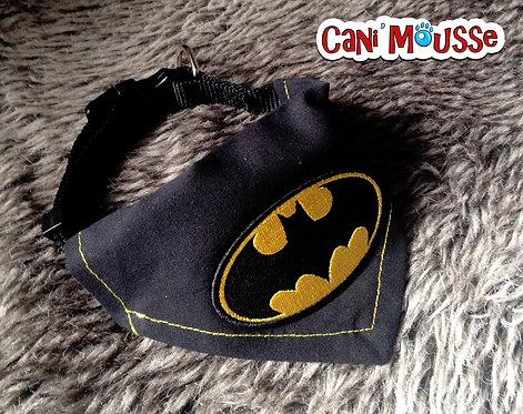 Collier bandana pour chien Batman