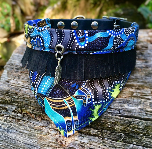 Collier bandana pour chien - modèle Australia - Edition limitée