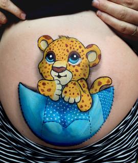 Belly bébé panthere