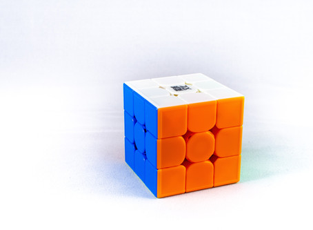 Simple skill: completing the Rubik's Cube in only a few minutes