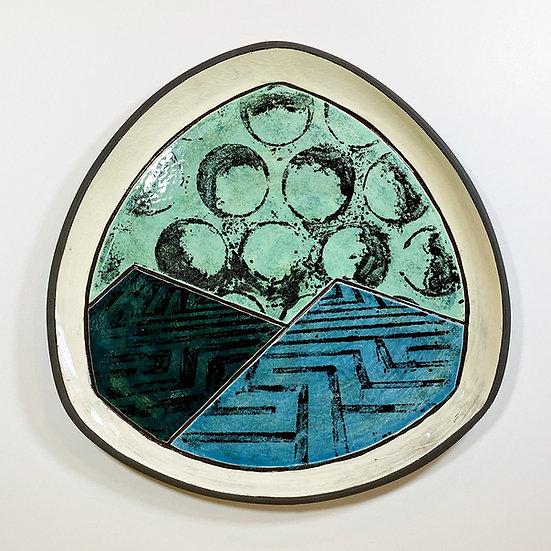 Triangular Plate, Large
