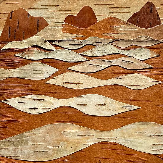 3-D Collage, Square