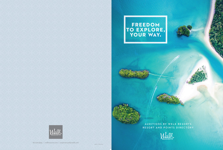 Welk Resorts Auditions Member Brochure