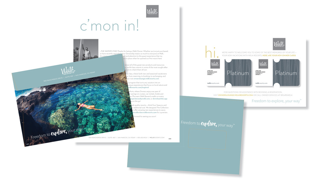 Welk Resorts New Owner Welcome Kit
