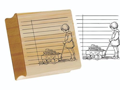 Kit com 3 Carimbos Brinquedos
