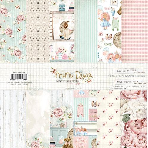 Kit de folhas  - Mini Diva