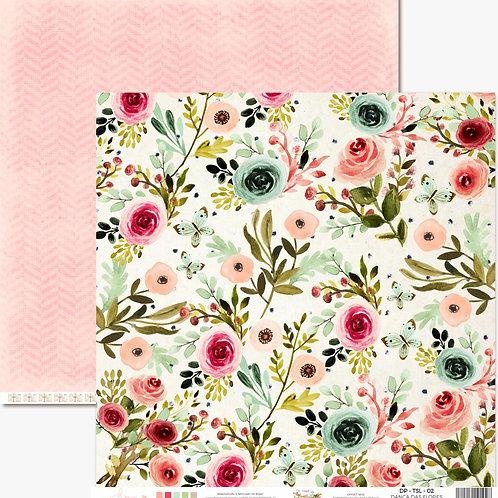 Kit de 10 Folhas Dança das Flores