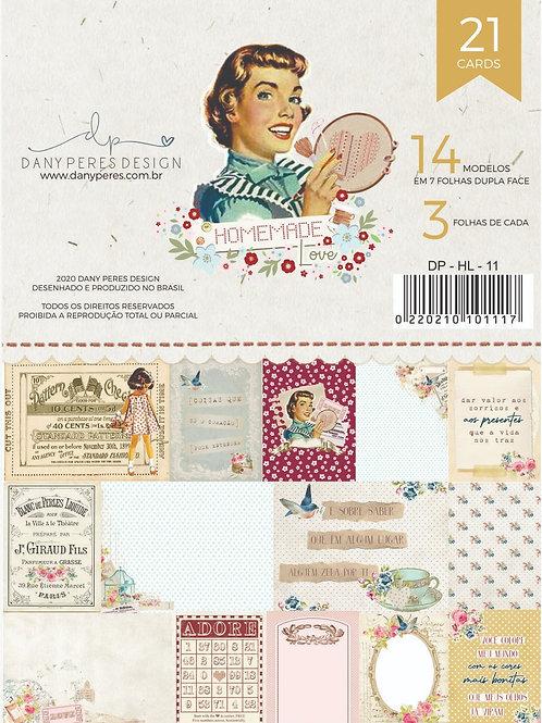 Bloco de Cards Coleção Homemade Love
