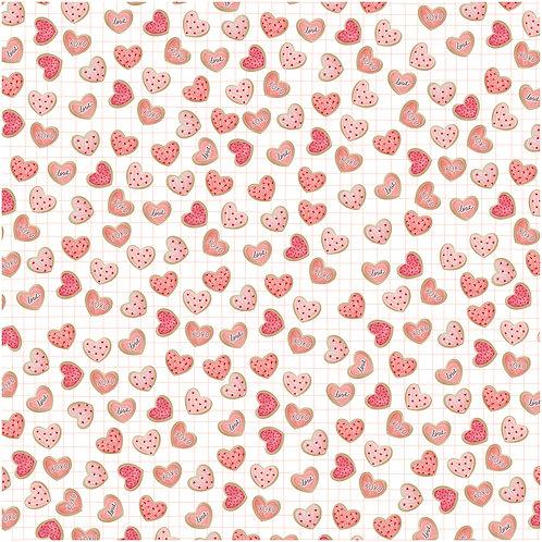 Pacote de folhas Fornada de Amor