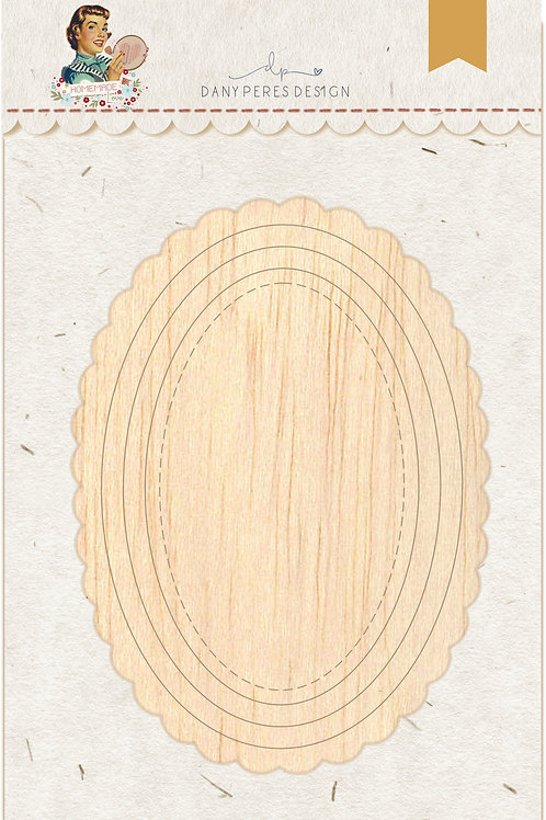Moldura Homemade Oval