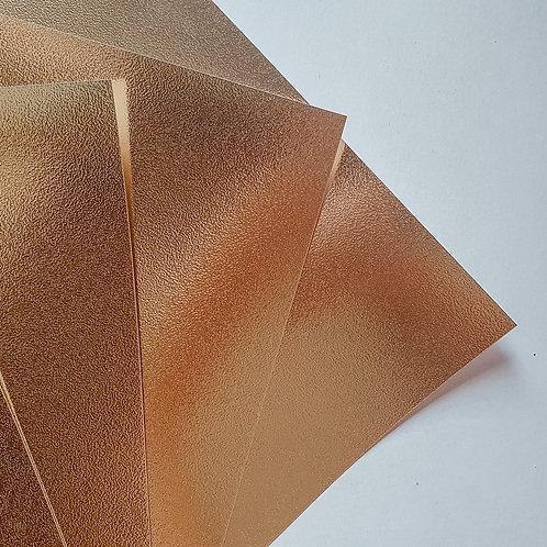 Cartolina Texturizada Dourada