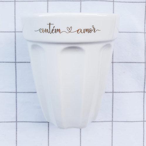 """Copo """"Contém Amor"""" - 300 ml"""