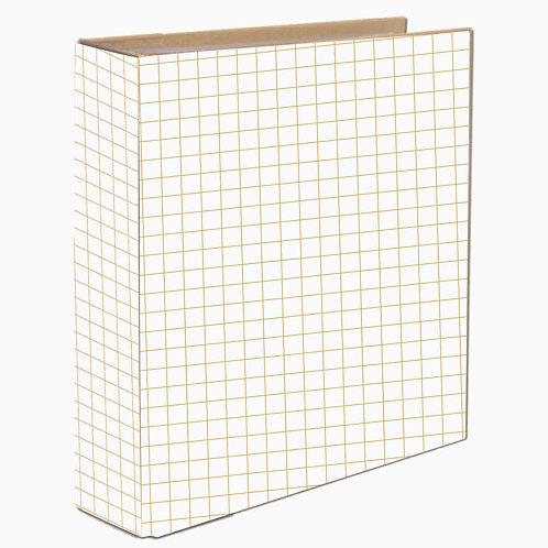 Álbum para Scrapbook - Quadradinho