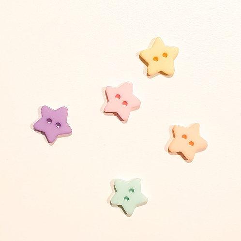 Botões Estrelas